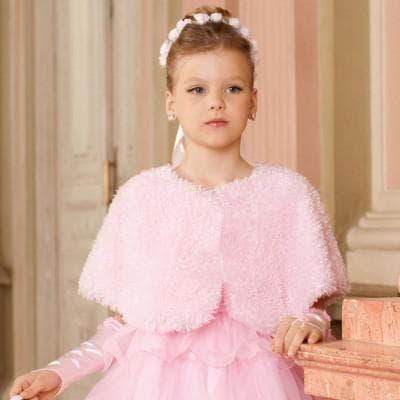 теплое платье для девочки подростка с мехом