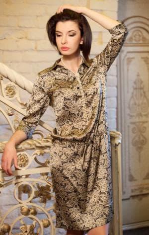 итальянские платья из натурального шелка