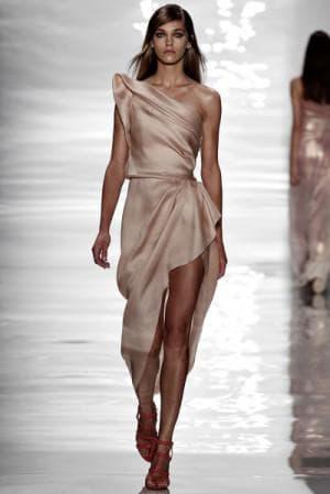 асимметричное платье от Reem Acra