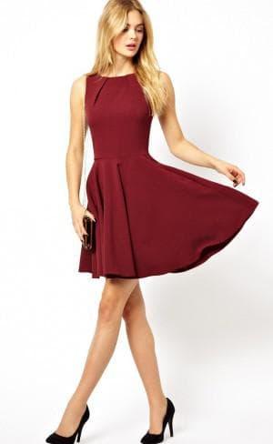 короткое платье солнышко из синтетики