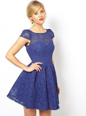короткое платье кружево солнышко