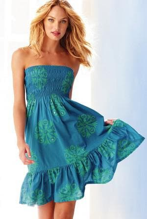 короткое платье солнышко из штапеля без лямок