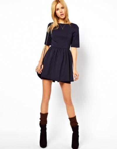 короткое платье рубашка солнышко