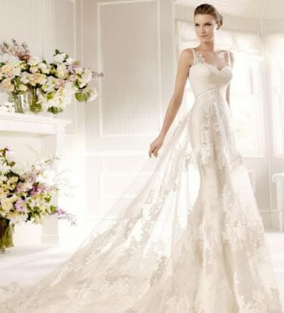 очень пышное свадебное платье от Ricca Sposa