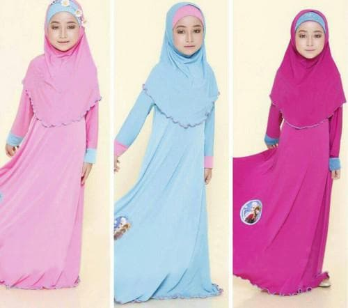 исламское платье для девочек