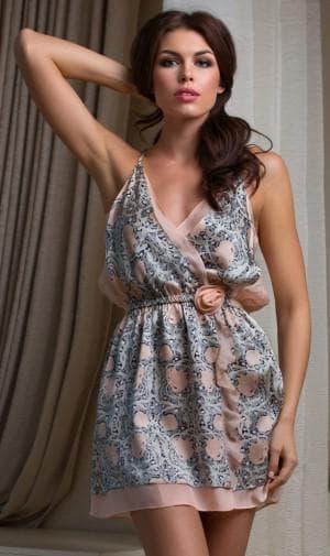итальянское платье в греческом стиле из натурального шелка