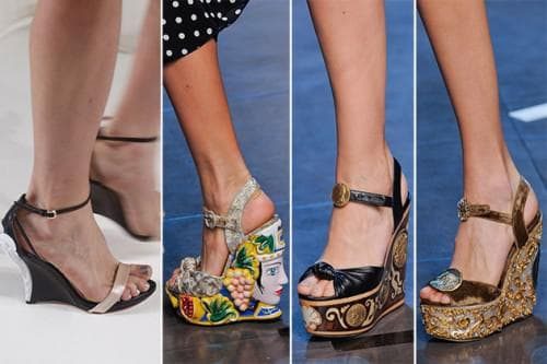 обувь на платформе для длинного платья