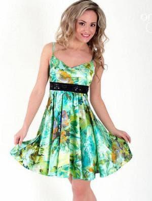 короткое платье сарафан солнышко