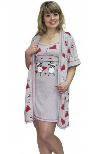 платье халат большого размера от Birlik
