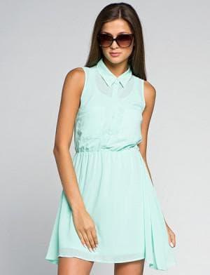 летние короткие платья на каждый день