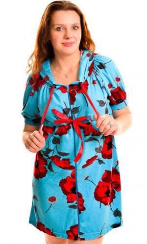 платье халат большого размера от Gudini