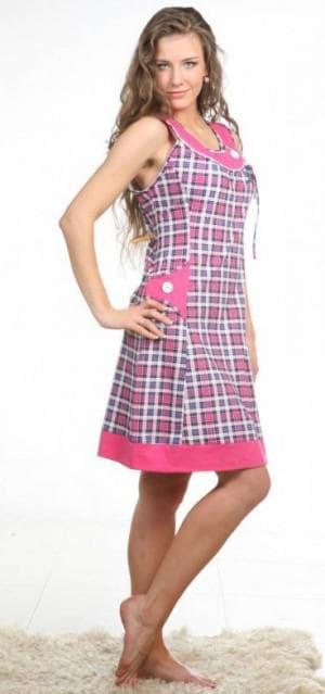 платье халат большого размера от Ltlla