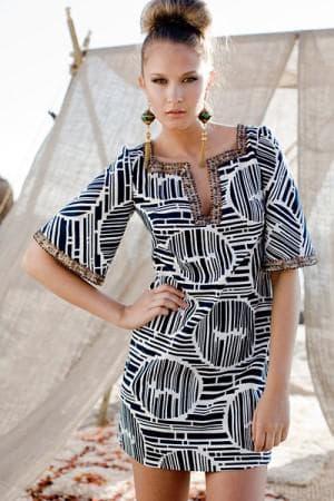 летние платье туника на каждый день