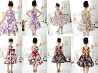 фасоны летних платьев для девочек