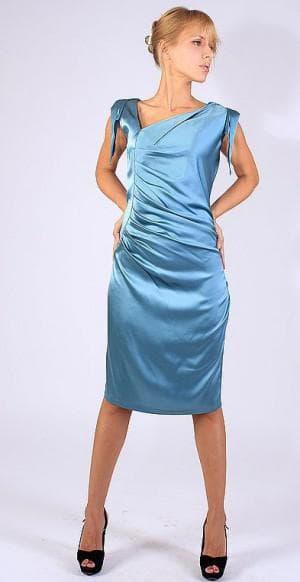 итальянское платье из натурального шелка от BALDININI