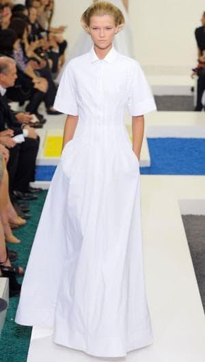 длинное платье рубашка на выход