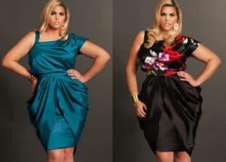 шикарные платья для полных женщин