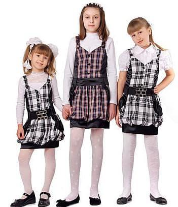 сарафан для школы для девочек