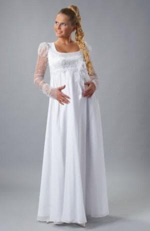 летние платье в греческом стиле для беременной