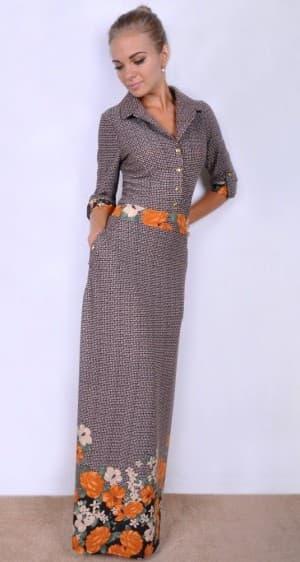 длинное платье рубашка для девушки невысокого роста