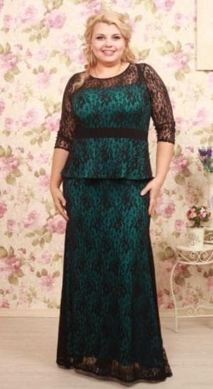 платье для больших женщин из Украины