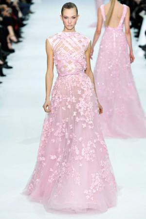 платье с цветами из органзы
