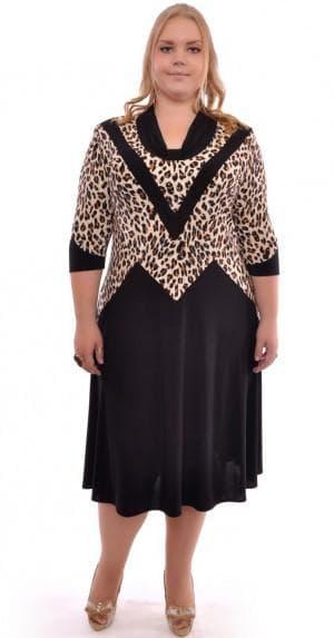 платье для больших женщин из Китая