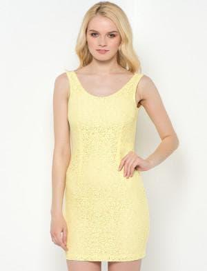 кира пластинина желтое платье