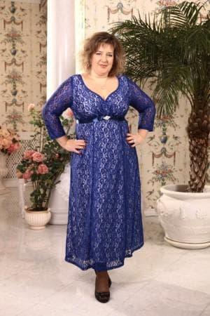 гипюровые платья в пол больших размеров