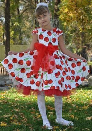 красивое платье на выпускной в детский сад от С & А