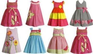 короткие красивые платья для детей