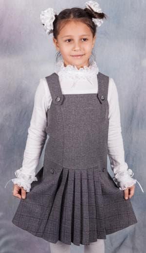 швы детского сарафана в школу