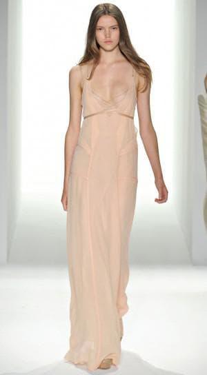 льняное белое платье бохо от Calvin Klein