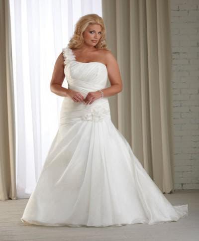 свадебные платья большого размера от принцесса на горошине