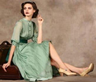 женственные платья из натуральных тканей