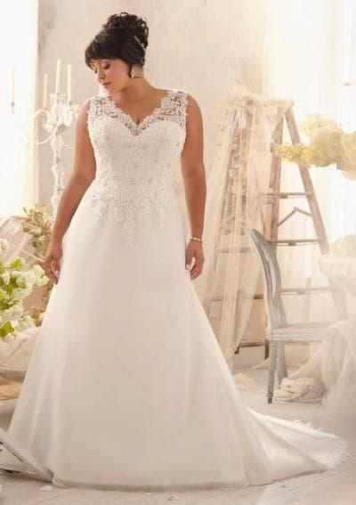 свадебные платья большого размера от Виктории