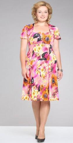 летние платья 52 размера