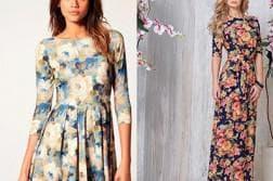 длинное летнее платье для полных