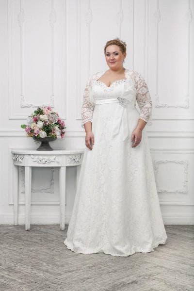 свадебные платья большого размера от Bella Bride