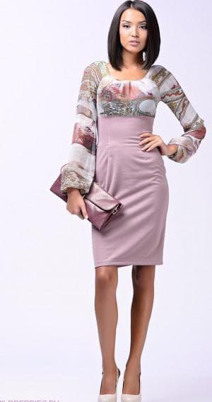 летнее платье верх из шифона а низ из плотной ткани