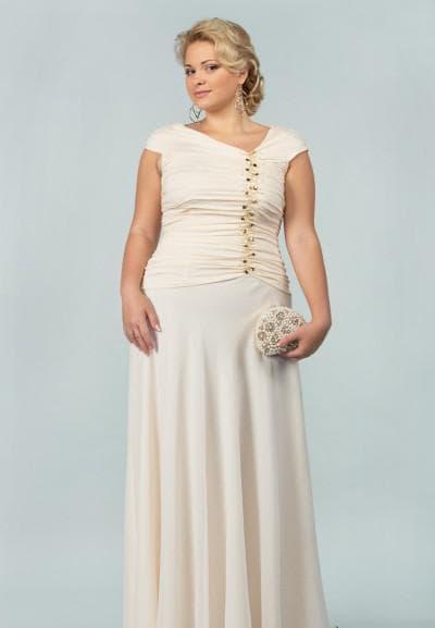 свадебные платья большого размера от Грация Вечера