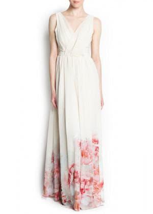 платье с цветами от Mango