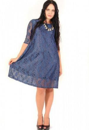 гипюровые платья трапеции больших размеров