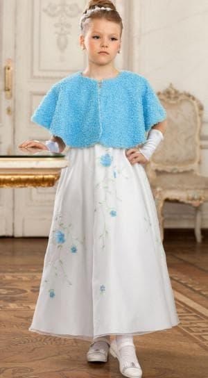 платье с мехом для девочки