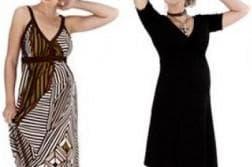 длинные платья в пол для беременных