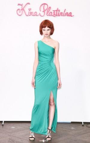 бирюзовое платье киры Пластининой