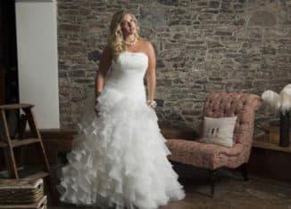 свадебное платье большого размера для дам