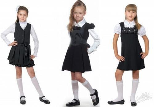 детский сарафан в школу от Фаберлик