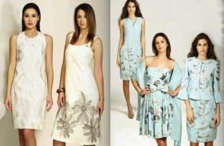 итальянские платья из льна