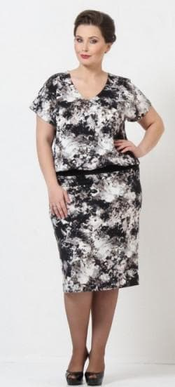 летние платья с V образным вырезом 52 размера